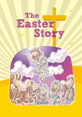 Easter story booklet for kids