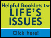 Helpful booklets for life's issues